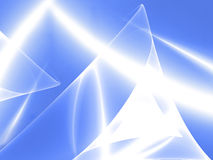 Blue flame. Digital illustration. Backgrounds Stock Photo