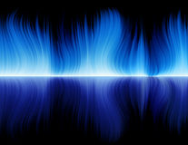 Blue_flame Stock Image