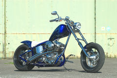 Blue Flame Chopper Royalty Free Stock Photo