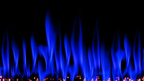 Blue Flames Vector Illustration