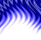 Blue flames. A wavy, blue, abstract flames pattern Stock Images