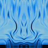 Blue flames BG Stock Photos