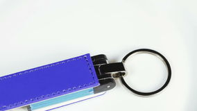 Blue flash drives stock video