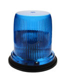 Blue flashing beacon. Stock Images