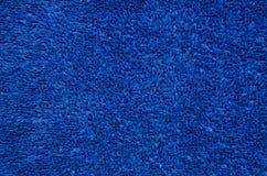 Fleece sweatshirt texture, background. Blue fleece sweatshirt, dressing-gown, texture or background Royalty Free Stock Image