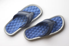 Blue Flip Flop.  Royalty Free Stock Photo