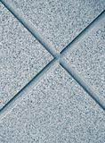 Blue floor tile. S close up Royalty Free Stock Images