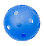 Blue Floorball. A blue floorball isolated on a white background Royalty Free Stock Image