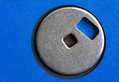 Blue floppy disk Stock Photography