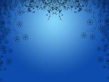 Blue floral background. Illustration of blue floral background Stock Image