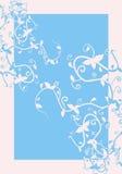 Blue floral innovation Stock Photos