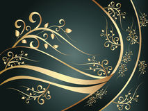 Free Blue Floral Ornament Royalty Free Stock Photo - 8752115