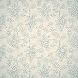 Floral ornamental pattern Stock Photo