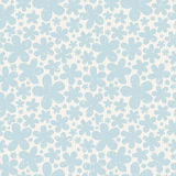 Blue floral seamless pattern on light background. Stock Images