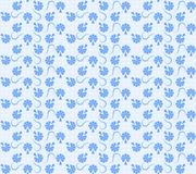 Blue floral texture Royalty Free Stock Image