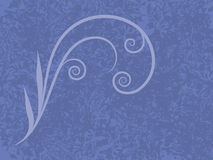 Blue Flourish Royalty Free Stock Photos