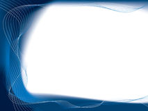 Blue flow Stock Images