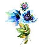 blue flower Стоковое фото RF
