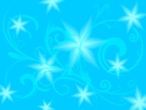 Blue flower background Stock Photos