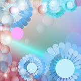 Blue Flower background Stock Image