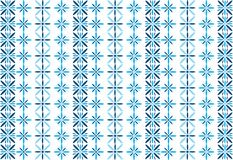 Blue flower pattern Stock Photos