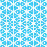 Blue  flower pattern Stock Images
