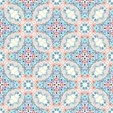 Blue Flower Pattern Weave Design Stock Photo