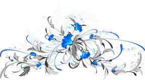 Blue flowers. Stock Photography