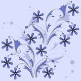 Blue flowers. Stock Image