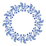 Blue flowers ornament Royalty Free Stock Photo