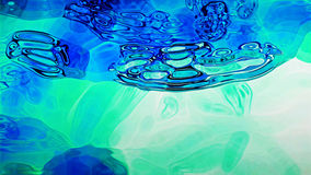 Blue Fluid 0201 Stock Images