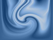 Blue fluid background. With swirls and waves royalty free illustration