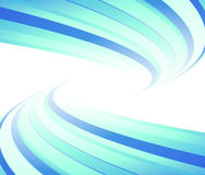 Blue flyer tornado lined. Blue tornado on a lined flyer. Vector illustration Stock Photos