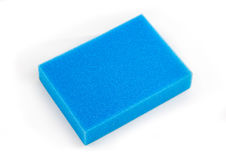 Blue foam Royalty Free Stock Images