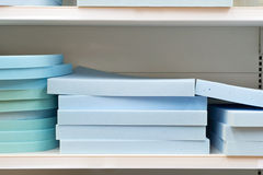 Blue foam Stock Photos