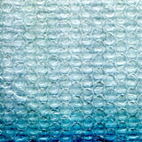 Blue foam plastic textured background Stock Photos