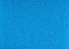 Blue foam rubber texture Stock Images
