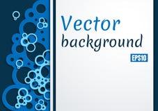 Papper art background blue foam stock illustration