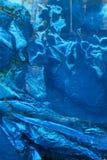 blue foil paper Stock Photo