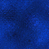 Blue Foil Seamless Background Texture Stock Photography