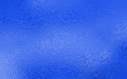 Blue foil texture background Stock Images