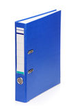 Blue folder Stock Photo