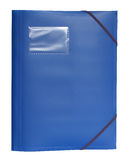 A blue folder Stock Image