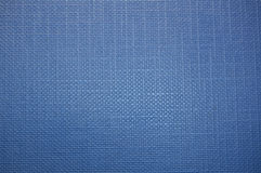 Blue folder texture. With ribbed details horisontally and vertically royalty free stock photos