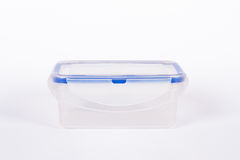 Blue Food Container Royalty Free Stock Photography