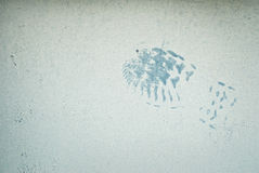Blue Footprint Stock Photos
