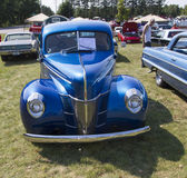 1940 Blue Ford Deluxe Car Stock Photography