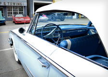 1960 Blue Ford Sunliner Stock Photos
