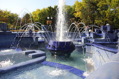 Free Blue Fountain In Subotica Royalty Free Stock Photo - 53862965