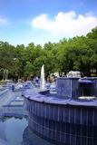 Blue Fountain Stock Images